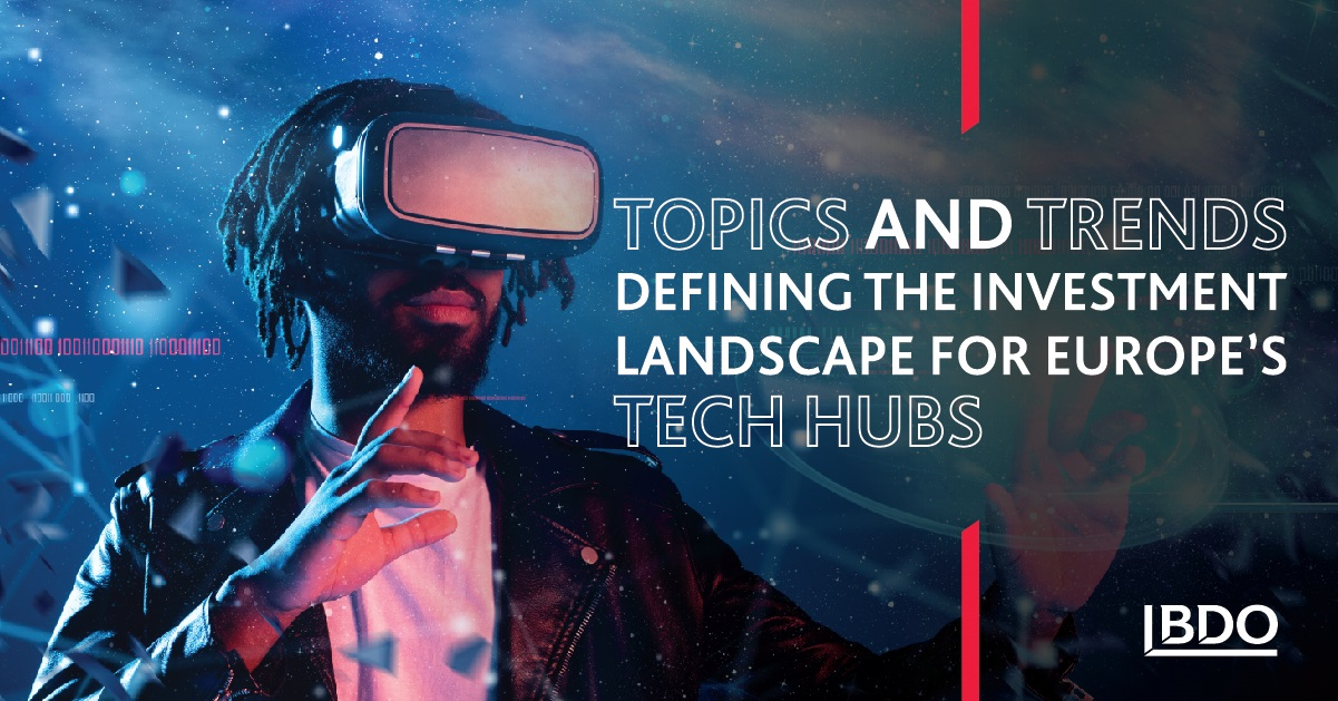 Topics and Trends Defining the Investment Landscape for Europe's Tech Hubs